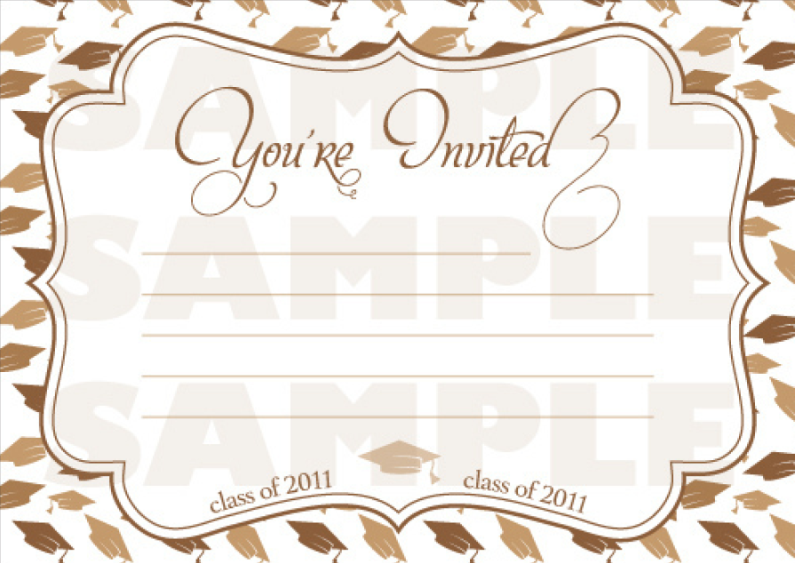 Farewell Party Invitation Template 01