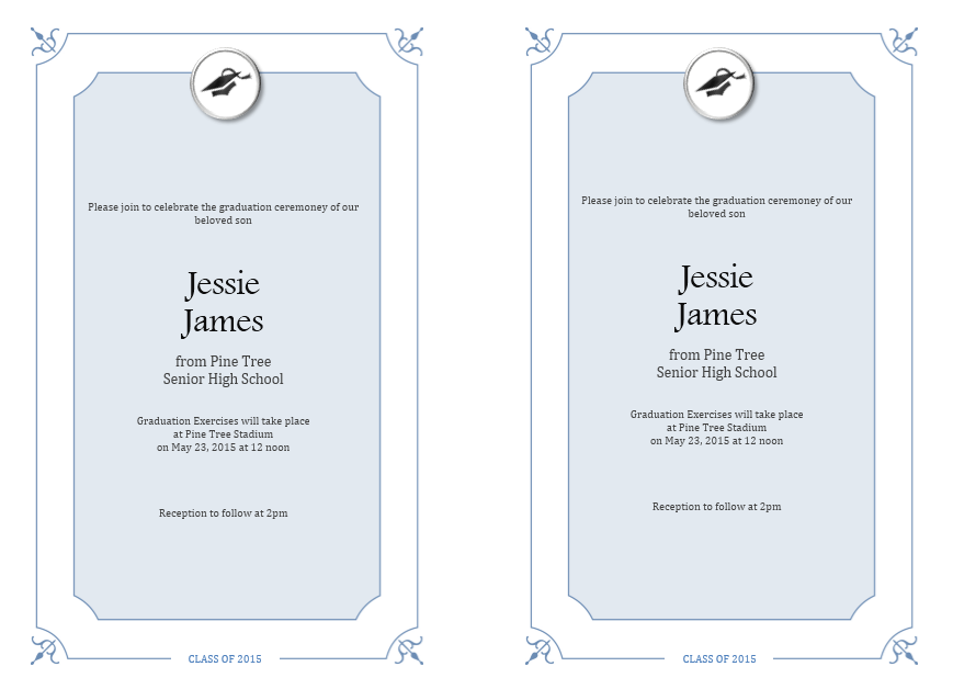 Farewell Party Invitation Template 06