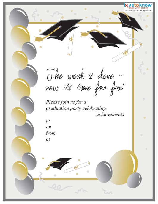 Farewell Party Invitation Template 14