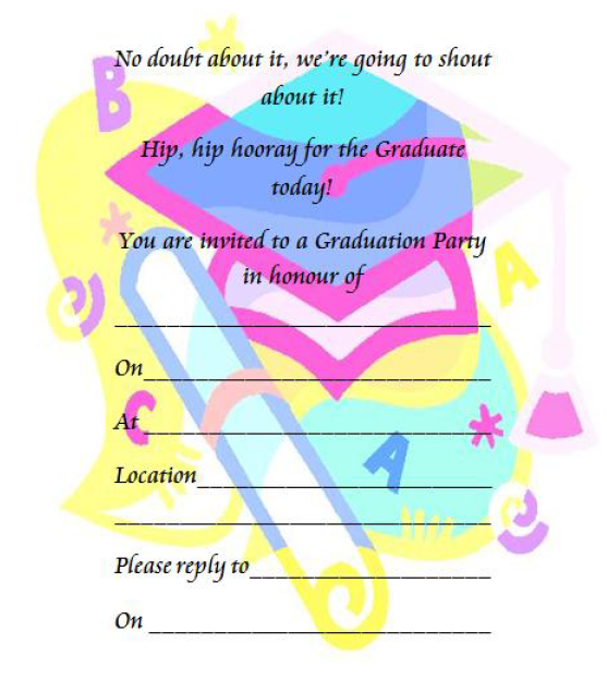 Farewell Party Invitation Template 19