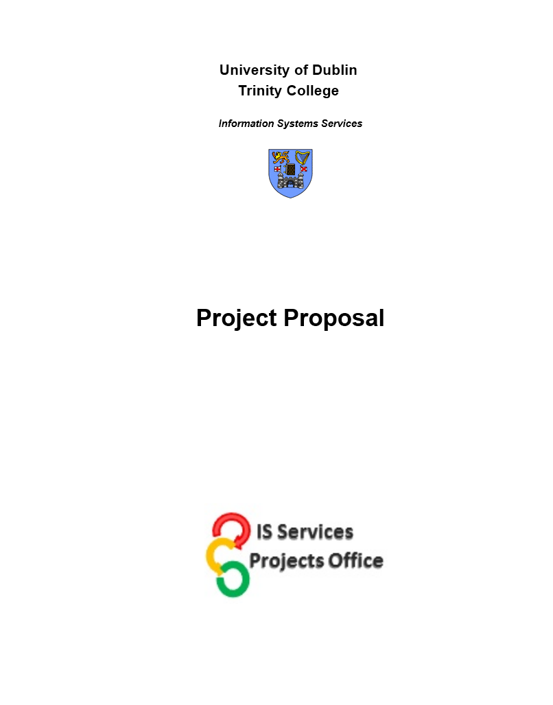 Project Funding Proposal Template 02