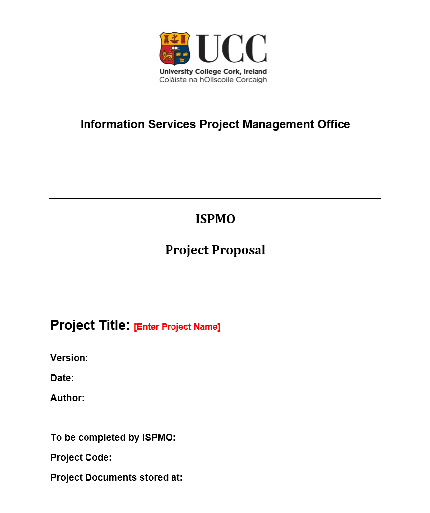Project Funding Proposal Template 08