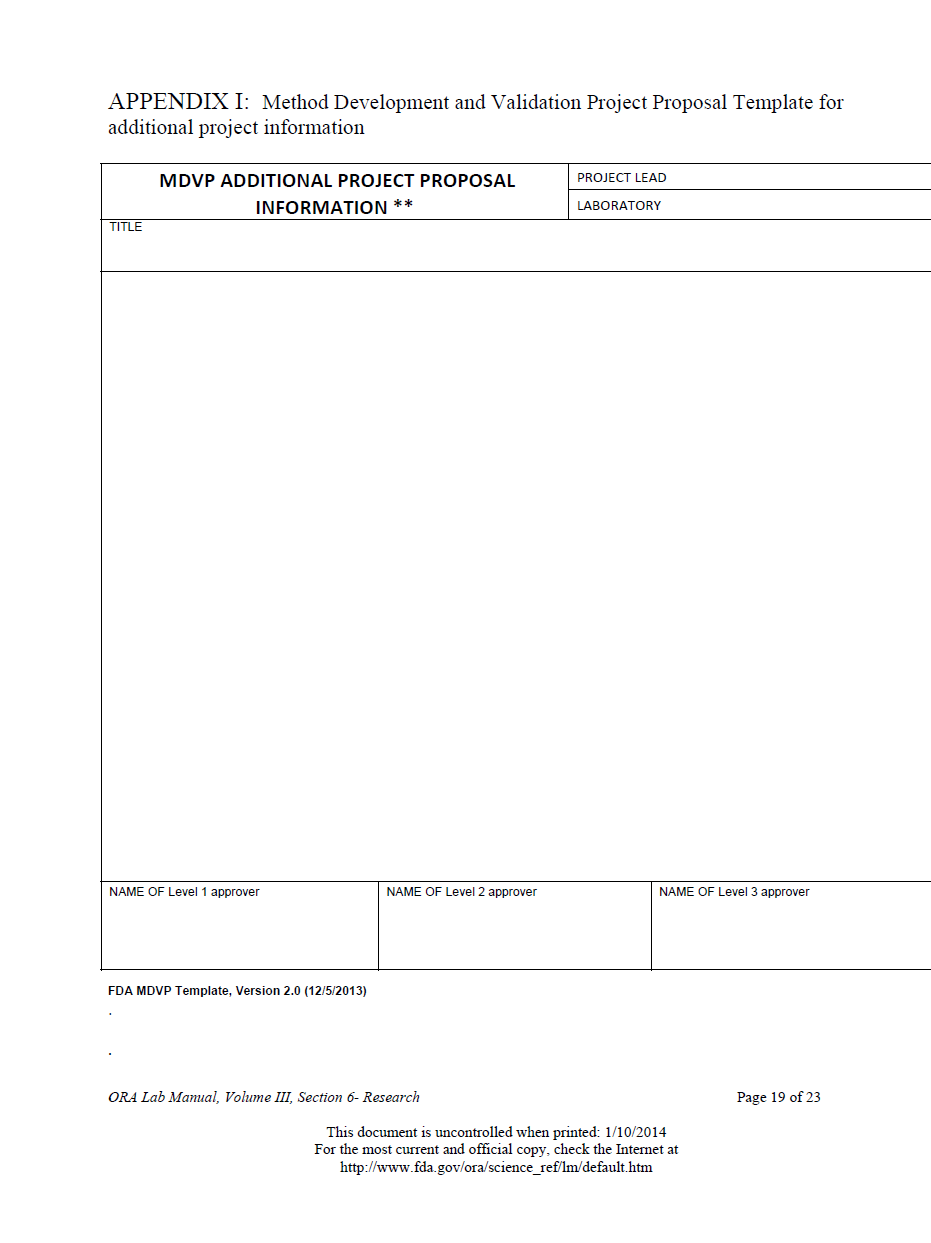 Project Funding Proposal Template 10