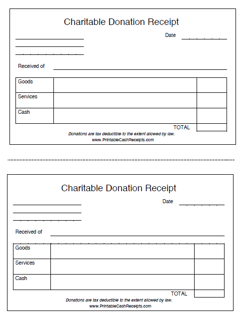 donation receipt template 02