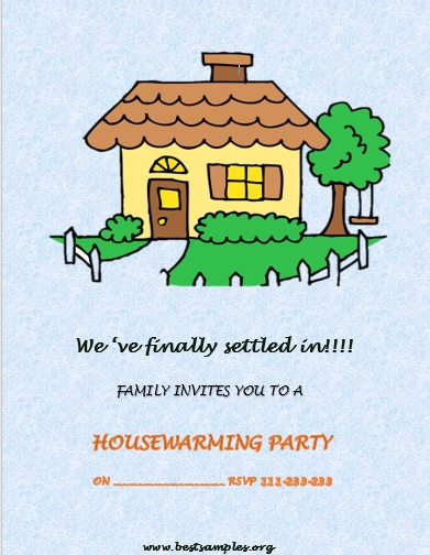 HouseWarming Party InvitationTemplate 26