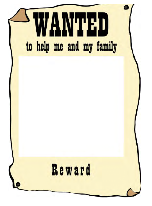 Wanted Poster Template 10