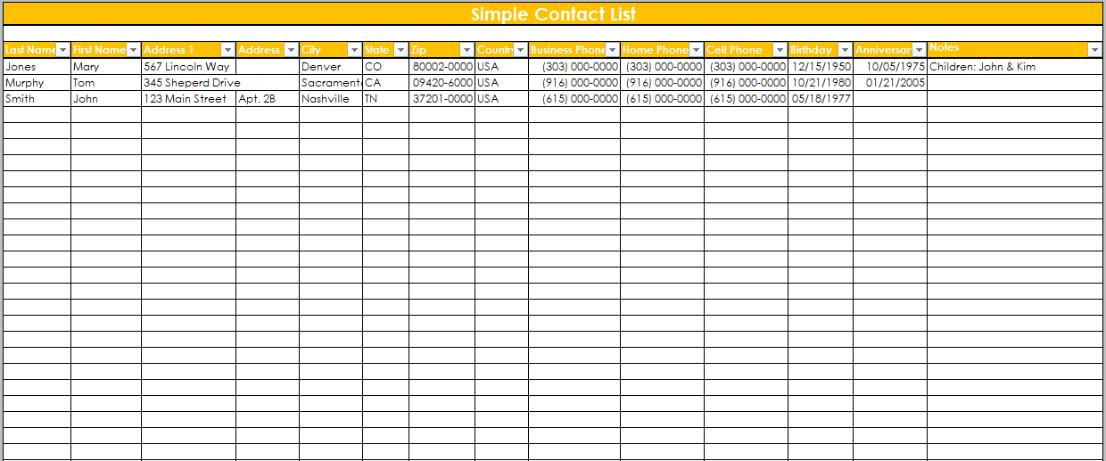 team contact list template 02