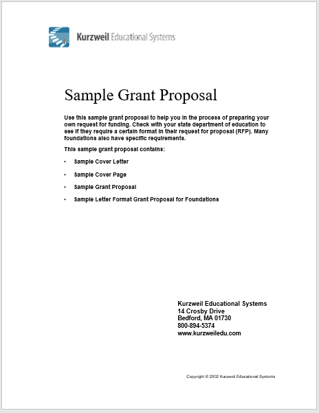 Sample Grant Request Letter from www.bestsamples.org