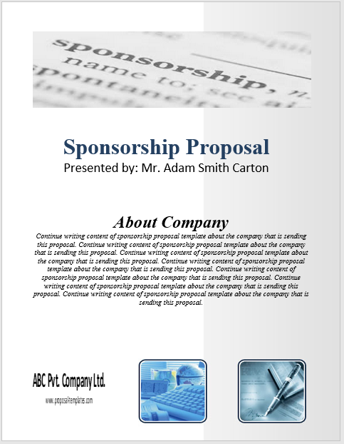 Sponsorship Proposal Template 07