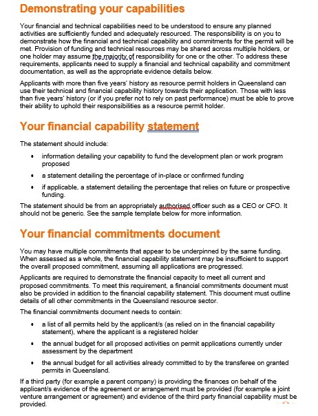 Capability Statement Template 11