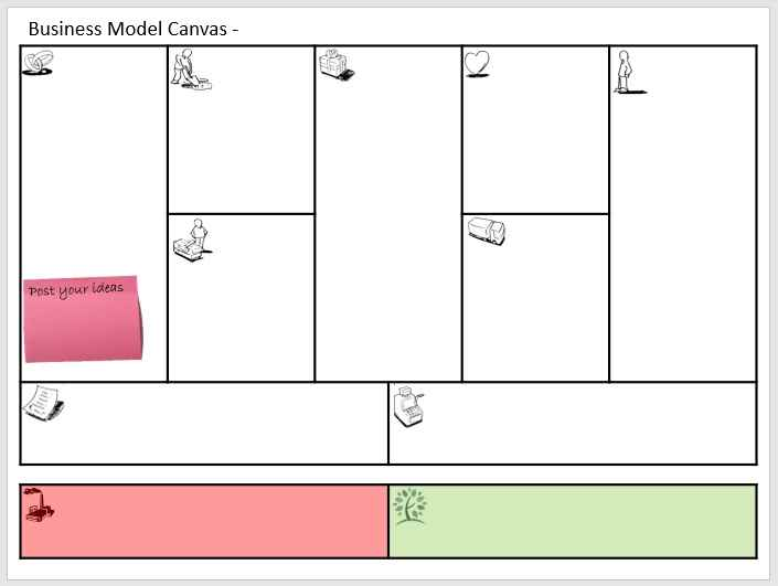 Business Model Template 008