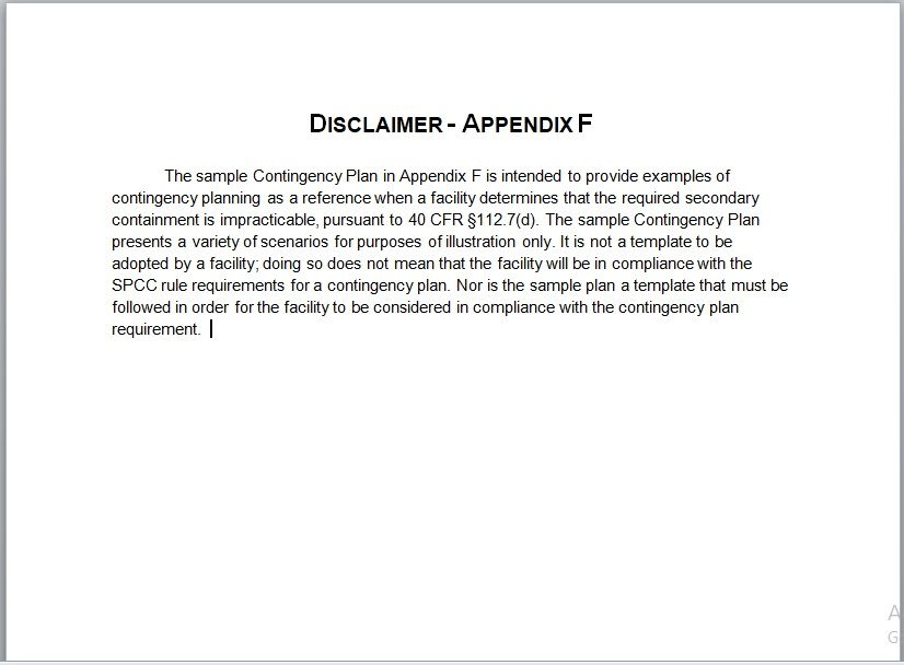 Contingency Plan Template 15