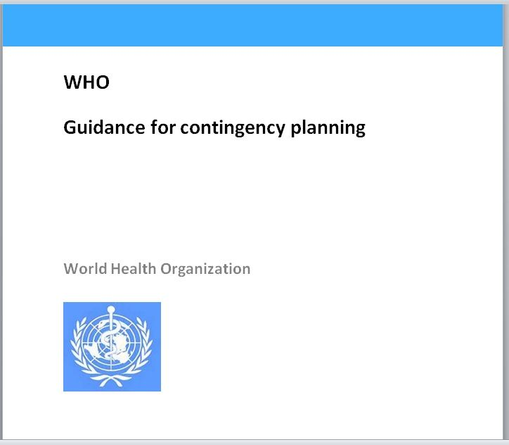 Contingency Plan Template 16