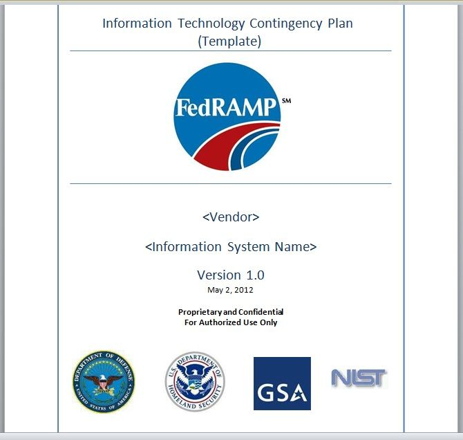 Contingency Plan Template 17