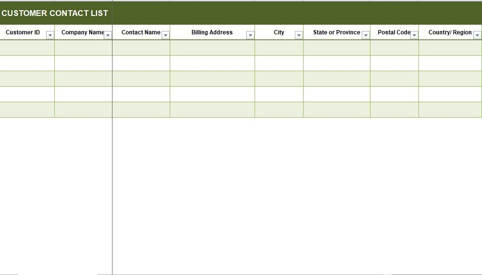 Customer Relationship Management Template 12