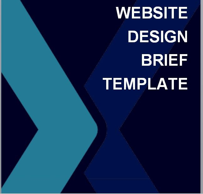 Design Brief Template 02