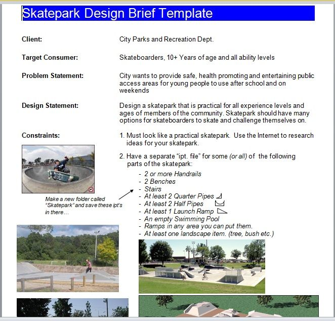 Design Brief Template 08