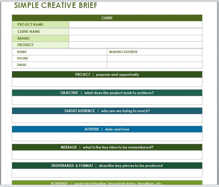 Design Brief Template 09