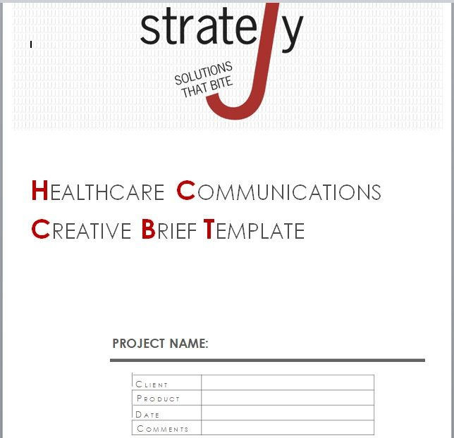 Design Brief Template 22