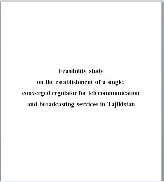 Feasibility Study Template 11
