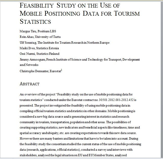 Feasibility Study Template 17