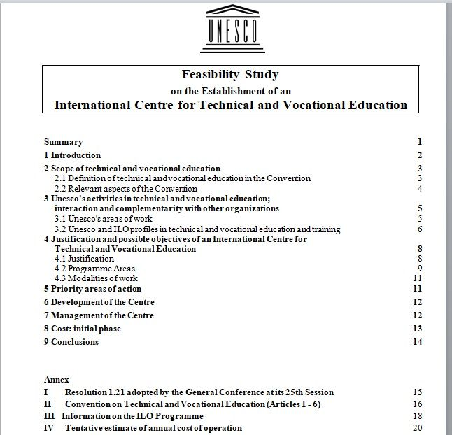Feasibility Study Template 19