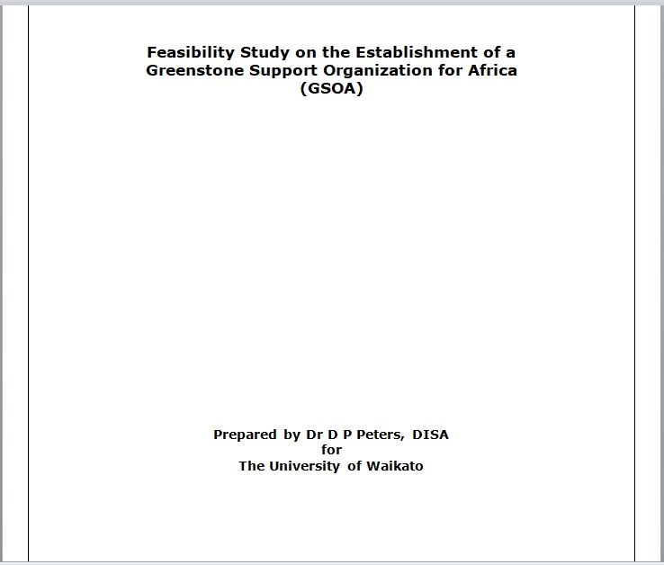 Feasibility Study Template 21