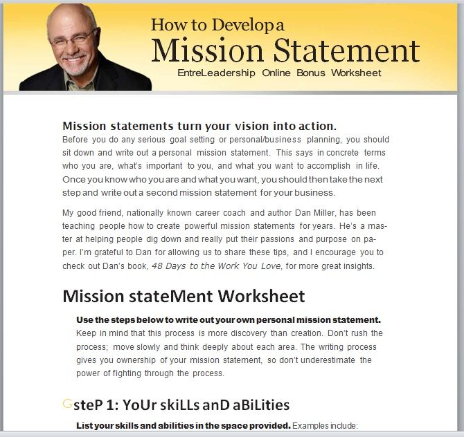 Importance Of Mission Statement In Business 03