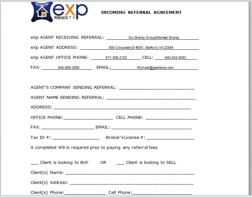 Referral Agreement Template 08
