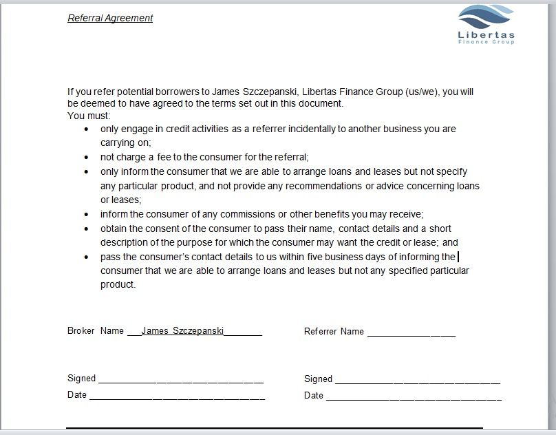Referral Agreement Template 10
