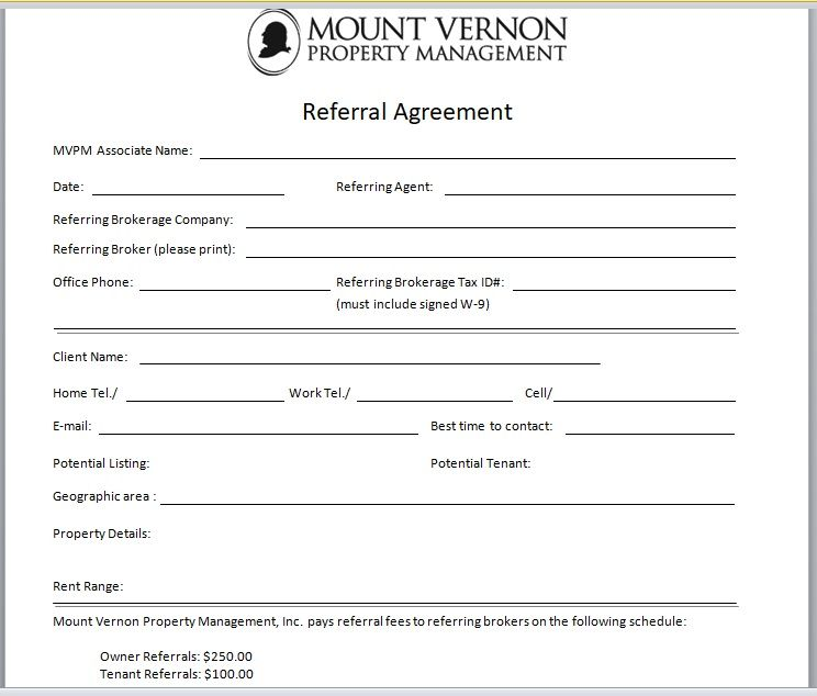 Referral Agreement Template 15