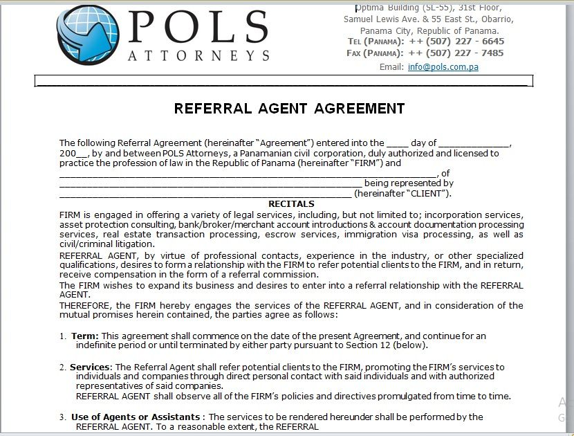 Referral Agreement Template 19