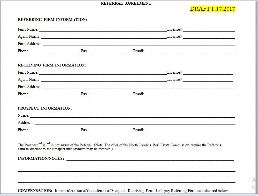 Referral Agreement Template 21