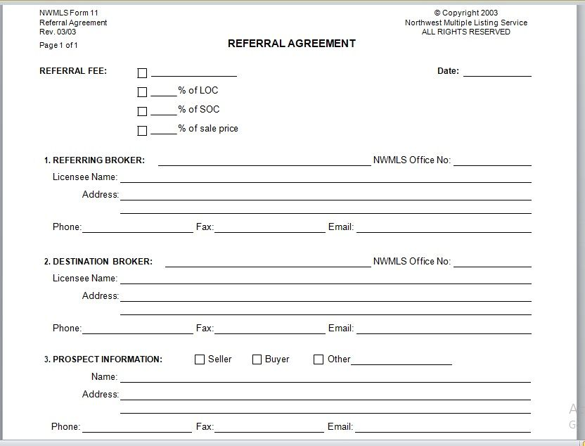 Referral Agreement Template 22