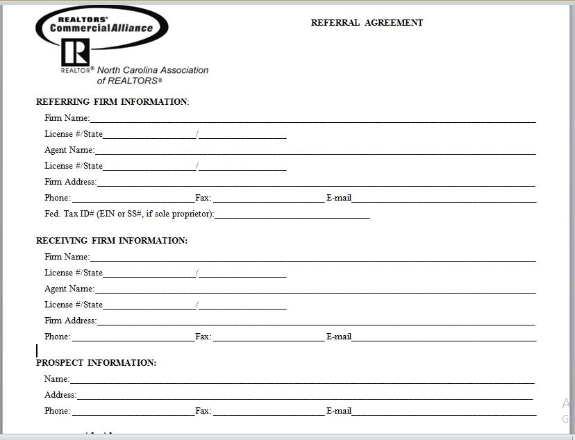 Referral Agreement Template 25